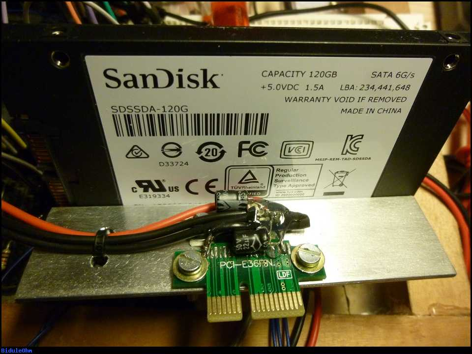How to build a pcie bracket for a standard ssd that powers Zfs raid calculator